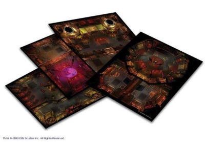Star Trek Adventures: Next Generation Klingon Tile Set