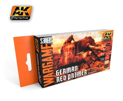 German Red Primer Set
