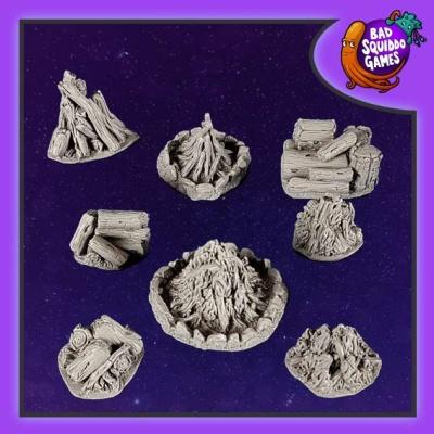 Bonfires & Log Piles (8)