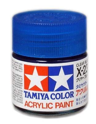 Tamiya Clear X-23 BLAU