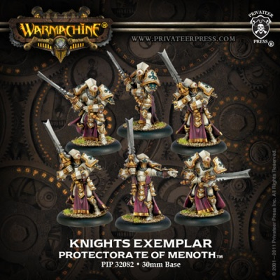 Protectorate Knights Exemplar Unit Box (plastic)