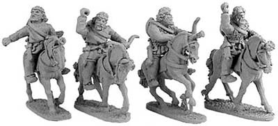 Persian Colonist Cavalry w/fillets (Random 4 of 4