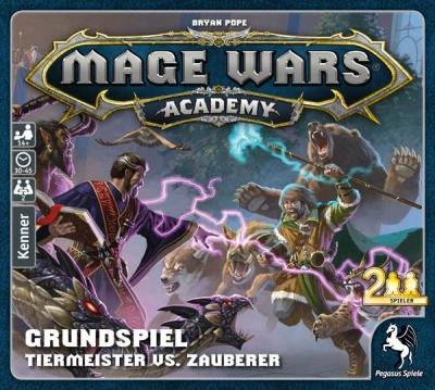 Mage Wars Academy Grundspiel - Tiermeister vs Zauberer