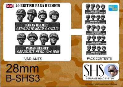 BRITISH PARAS IN HELMETS