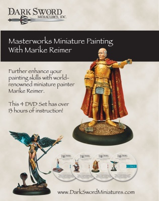 Masterworks Miniature Painting with Marike Reimer (4 DVD)