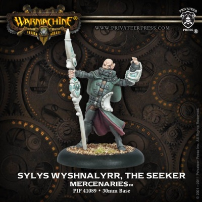Mercenary Sylys Wyshnalyrr, The Seeker Character Solo
