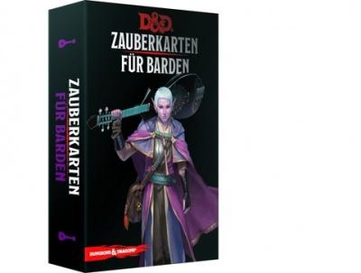 D&D: Zauberkarten für Barden
