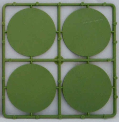 60mm runde Bases (8)