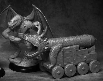 Draconid Cannon Master w Dragon Cannon