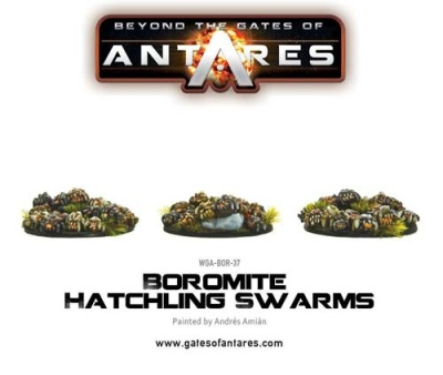 Boromite Hatchling Swarms