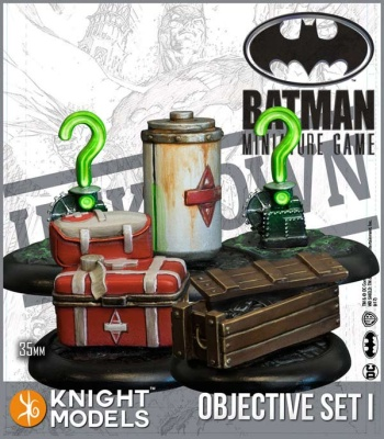 Batman Objective Game Markers Set 1