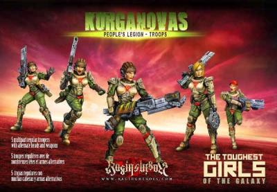 KST - People's Legion - Troops