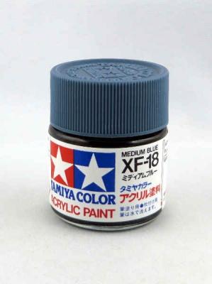 XF-18 SCHWARZ matt 23 ml