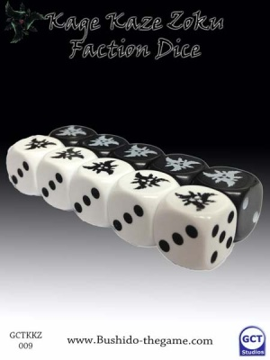 Kage Kaze Zoku Faction Dice (10)