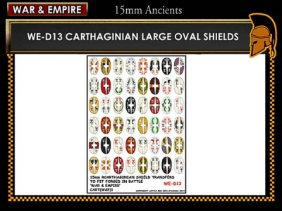Cathaginian large oval shields