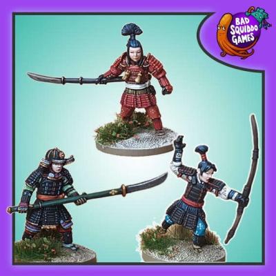 Onna-bugeisha - Naginata and Yumi (3)