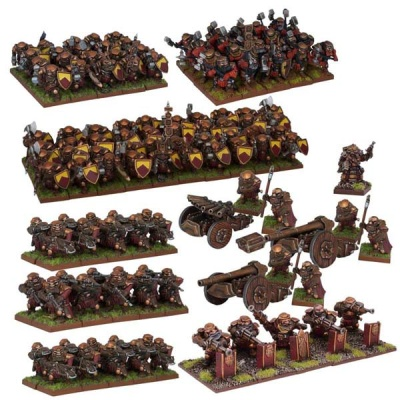 Dwarf Mega Army (Re-package & Re-spec)