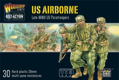 US Airborne plastic boxed set (30)