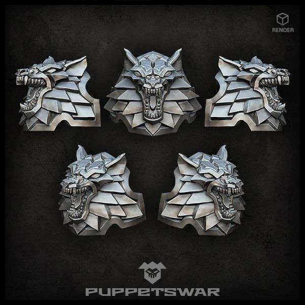 H.I. Wolf Shoulder Pads