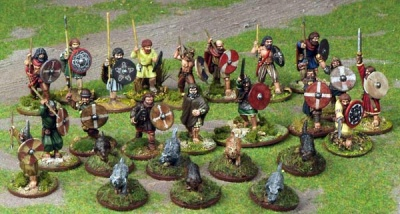 SAGA - Irish Warband (25)