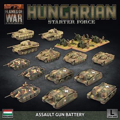 Hungarian Starter: Zrinyi Assault Gun Battery (Plastic)