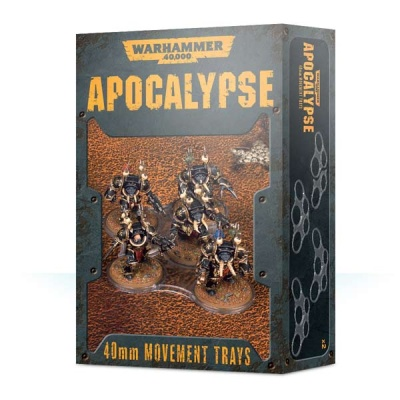 WH40k Apocalypse Movement Trays (40mm) (16)
