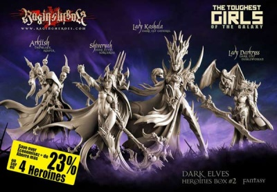 Heroines Box Dark Elves 2 (Fantasy)