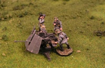Flak 43 37mm AA + Crew