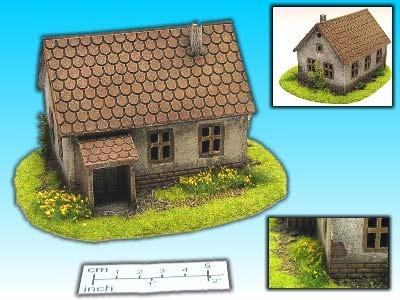 Geländestück Bauernhaus (15mm)