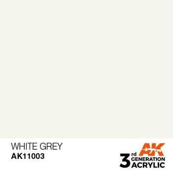 White Grey 17ml