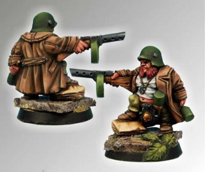 28mm Dwarf Sturmgrenadier #1