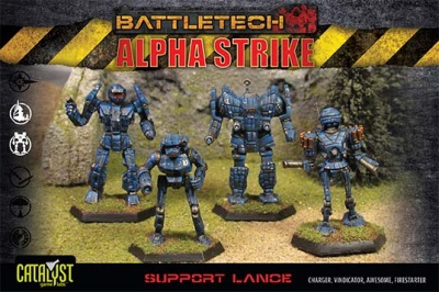 BattleTech Alpha Strike:Support Lance Pack