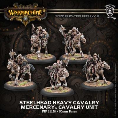 Mercenary Steelhead Heavy Cavalry Unit (5)