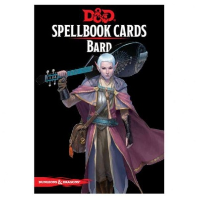D&D: Spellbook Cards: Bard Deck (128 Cards)