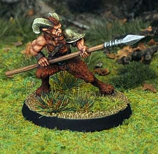 Satyr, with Spear