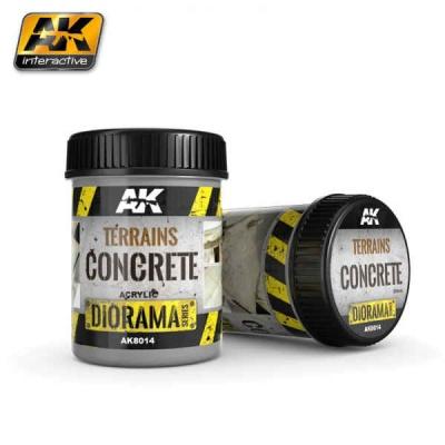 Terrains Concrete - 250ml (Acryl)