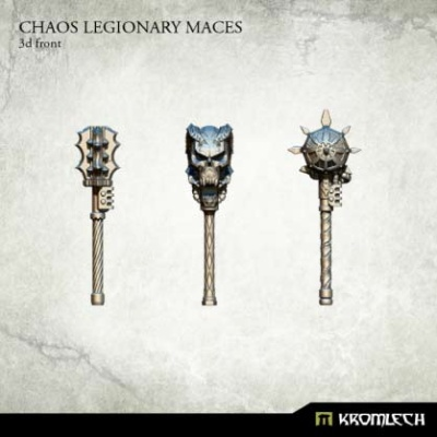 Chaos Legionary Maces (3)