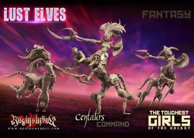 Centaurs Fantasy - Command Group (LE - FANTASY)
