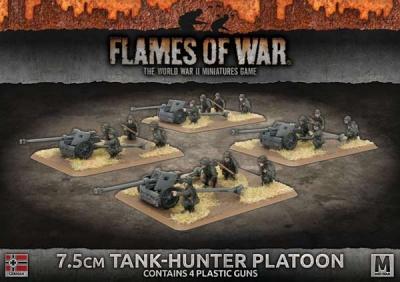 7.5cm Tank-Hunter Platoon (Plastic)