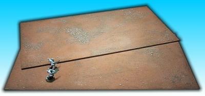 2 Flächen ''Wüste'' 25 x 50 cm