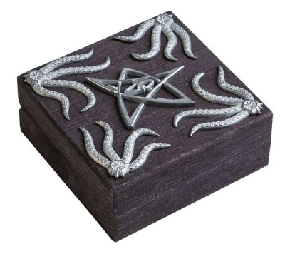Call of Cthulhu: Cthulhu Graphite Dice Chest