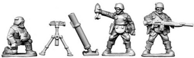 Assault Troopers Mortar Team