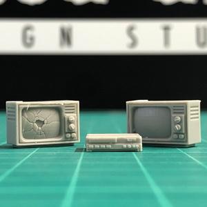 TV & VCR set