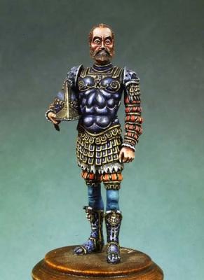 Kaiser Charles V in römischer Rüstung (54mm)