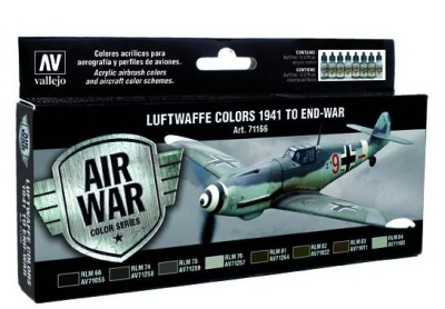 Model Air Set Luftwaffe Colors 1941 to end-war (8)