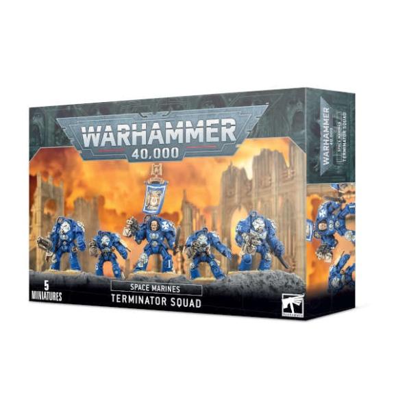 Space Marine Terminator Trupp