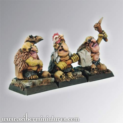 Goblin Warriors set #2 (3)