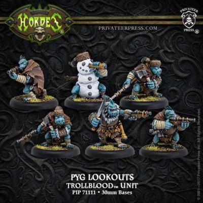 Trollblood Pyg Lookouts Unit (6)