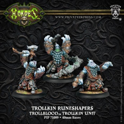 Trollblood Runeshapers (3 Models)