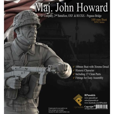 Maj. John Howard BUST